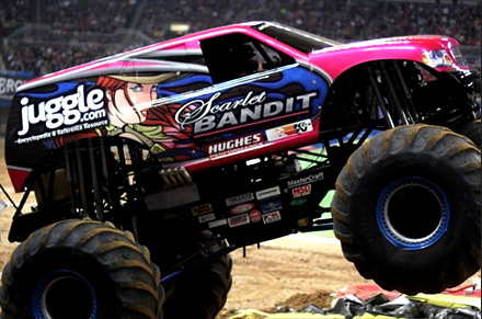 Juggle Sponsors Monster Jam 2010
