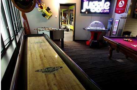 Juggle Game Area