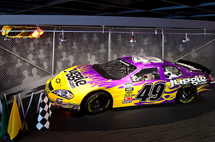Juggle NASCAR Race Car