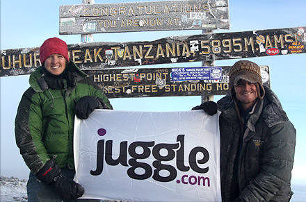Juggle Funds Mt. Kilimanjaro Climb