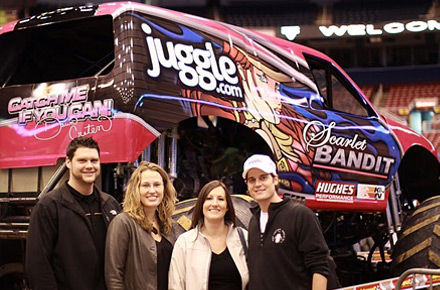 Juggle Sponsors Monster Jam Event
